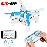 Cheerson CX-OF Optical Flow Sensor Dance Entertainment Selfie 2.4GH 4CH 6 Axis iOS/Android APP Wifi Romote Control RC FPV Real Time Video Mini Quadcopter Helicopter Drone UFO with 0.3MP HD Camera