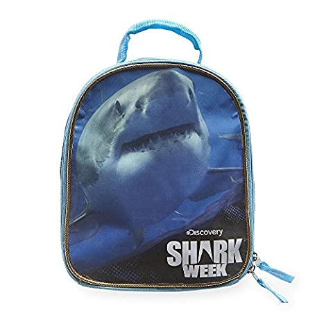 Discovery Animal Planet Shark Week Insulated Lunch Box (Ghost Busters 12 Inch)