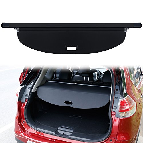 (Danti Black Retractable Rear Trunk Cargo Luggage Security Shade Cover Shield for Nissan X-trail Rogue SV S SL 2014 2015 2016 2017 2018 (Upgrade Rouge X-trail) )