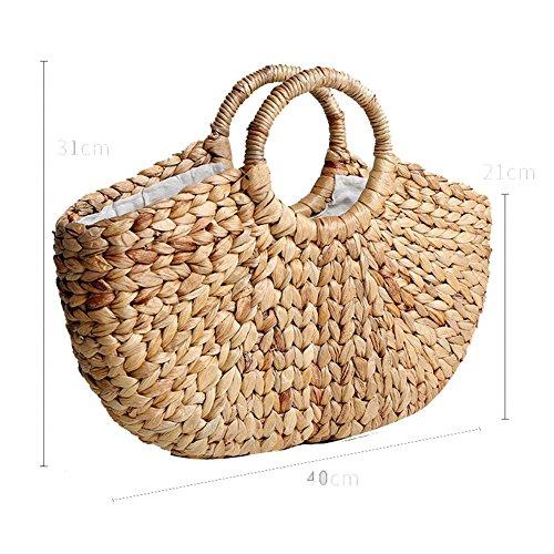 Jarong Manual Knitting Bag Made Retro Bag Women, Aa