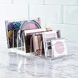 iDesign Clarity BPA-Free Plastic Divided Makeup