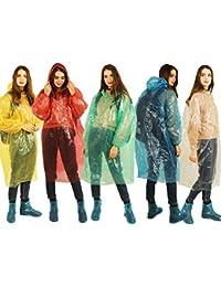 Rain Poncho for Adults, Disposable Rain Coat Waterproof