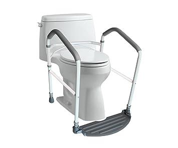 Beau Toilet Safety Frame U0026 Rail By RMS | Folding U0026 Portable Bathroom Safety  Handrail Grab Bar