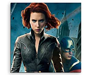 Black Widow Scarlett Johansson Lienzo en 60 x 60 cm ...