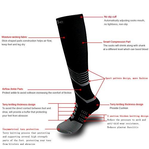Amazon High Graduated Compression Socks For Men Women Best