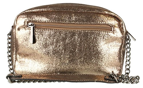 Studded Girly Bag Champagne Clutch HandBags 6RwAq5ngRS