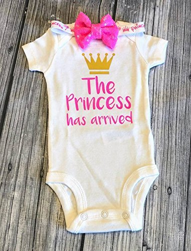 Baby girl Onesie The princess has arrived