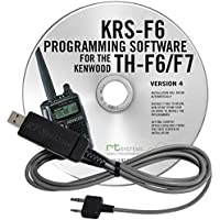 Kenwood TH-F6/F7 Two-Way Radio Programming Software & Cable Kit