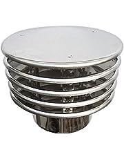CHIMENEA PARED SIMPLE Terminal sombrero de caà±a 150 dn