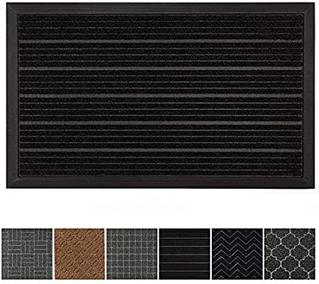 c006e89e1424 GRIP MASTER Durable, Tough All-Natural Rubber Doormats (29x17 Size)  Waterproof Commercial High Traffic Indoor Outdoor Door Mat, Boots Scraper  Mats, ...