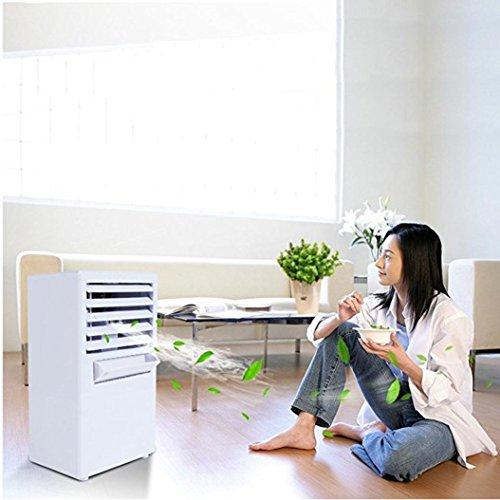 LtrottedJ Mini Desktop Air Conditioning Fan, Air Evaporation