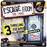 Spin Master Games - Escape Room, The Game with 3 Escape Rooms, Ages 16 and Up