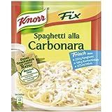 Knorr Fix spaghetti alla carbonara (Spagehetti alla Carbonara) (Pack of 4)
