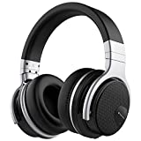 meidong E7 Active Noise Cancelling Bluetooth Headphones Over Ear with Microphone Hi-Fi Deep