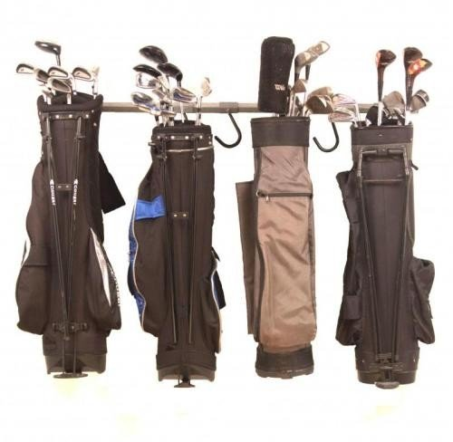 Golf Bags Trunk Organizer Rack by Monkey Bar