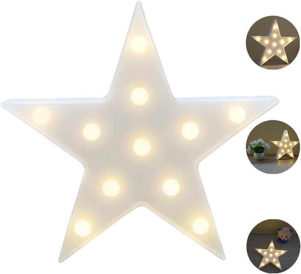 Lindas L/ámparas LED De Pared Sala Luz Decorativa De La Sala De Navidad Decorativos Mesa L/ámpara /Ánimo Luces L/ámpara Infantil REKYO Carpa De Luz Nocturna Campanas