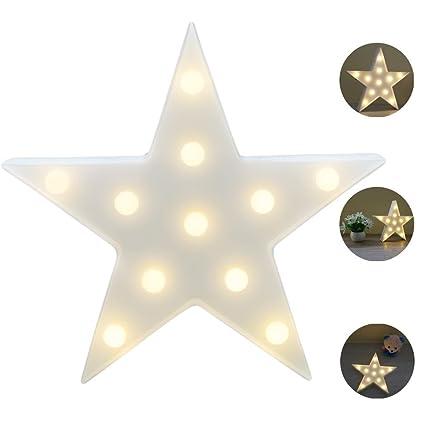 REKYO Carpa De Luz Nocturna, Lindas Lámparas LED De Pared, Sala Luz Decorativa De La Sala De Navidad Decorativos Mesa Lámpara Ánimo Luces Lámpara ...