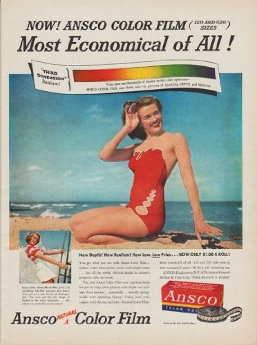 Film Ansco Color (1950 Ansco Color Film Ad