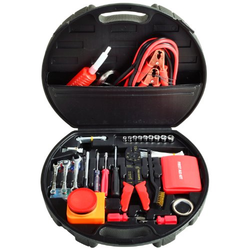 Picnic at Ascot Auto Roadside Emergency Tool Kit - 132 Pieces ()