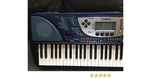 Amazon.com: Yamaha PSR270 61-Key MIDI Portable Keyboard with Education Suite: Musical Instruments