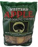 apple wood smoker - WESTERN 28080 Apple Cooking Wood Chunks