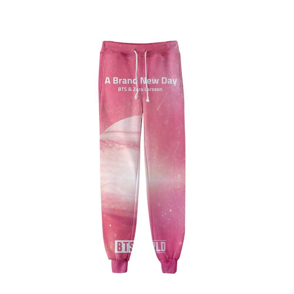 Kerlana BTS Pants Pantalones Pantalones de chándal Cintura ...