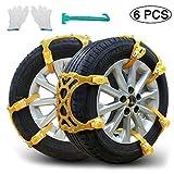 Snow Chains, Anti-skid Tire Chains Car Emergency Chains Powertiger Anti Slip Tire Snow
