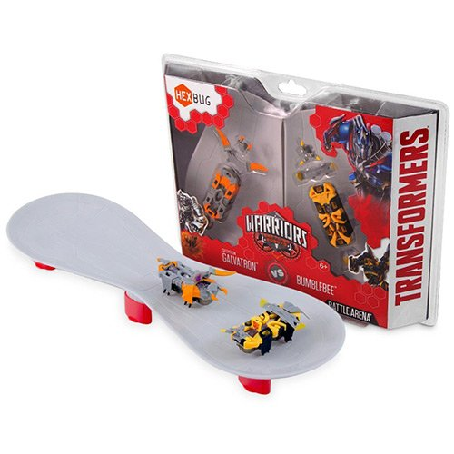 Transformers Bumblebee Vs Decepticon Galvatron: Hexbug Warriors Battle Arena