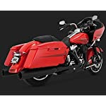 Vance-and-Hines-Power-Duals-Header-Pipes-for-Harley-Davidson-2009-2016-Touring-One-Size
