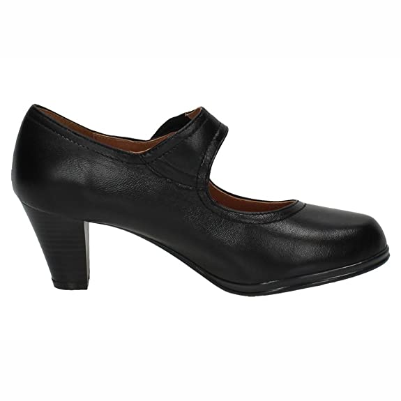 a760dc73148 MADE IN SPAIN 5043 Tacones DE Piel Mujer Zapatos TACÓN  Amazon.es  Zapatos  y complementos