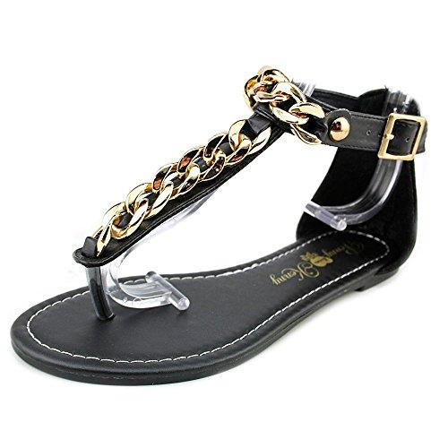 Penny Loves Kenny Ankle Strap Heels (Penny Loves Kenny Women's Troupe Dress Sandal, Black Matte, 6.5 M US)