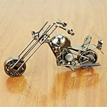 Creative scooter Metal Crafts DIY motorcycle Craft For Friend Birthday Best Gift Home Decoration Accessories Table Figurine (3)