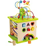Hape Country Critters Wooden Activity Toddler Play Cube