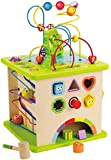 Hape - Country Critters Wooden Activity Play Cube