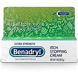 Benadryl Itch Stopping Cream Extra Strength 1 oz (Pack of 3)