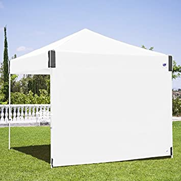 E-Z UP Recreational Sidewall White – Fits Straight Leg 10 E-Z UP Instant Shelters