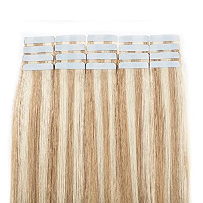 Tape in Human Hair Extensions Remy Human Hair 50g