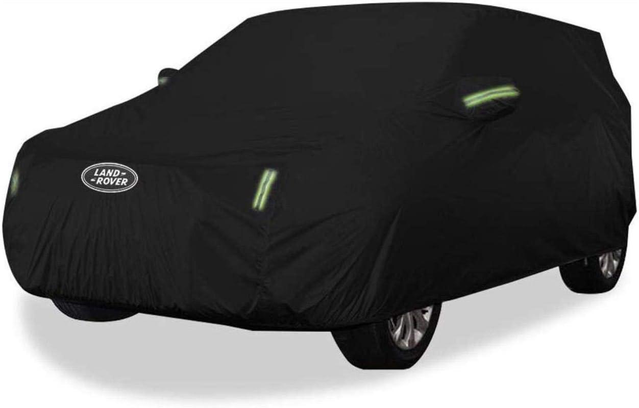 Housse de voiture Housse de protection Range Rover Sport Car Cover SUV /épais Tissu Oxford protection solaire anti-pluie R/échauffez Couverture voiture tissu O taille, tissu Oxford - int/égr/é peluches