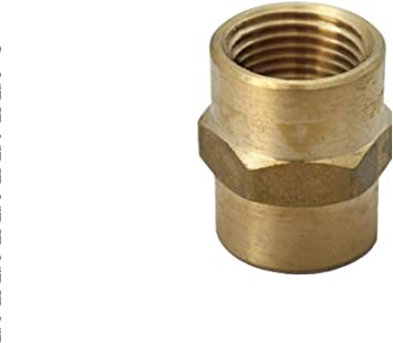 "2/"" FPT To 1-1//4/"" FPT Female Reducing Coupling Elbow Connector Pipe Fitting"