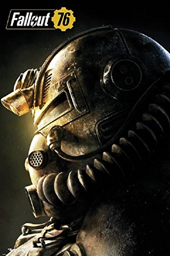 Fallout 76 - T51b Video Gaming Poster