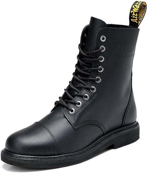 Botas de Seguridad para Hombre Botas Martin de Cuero para Hombre ...