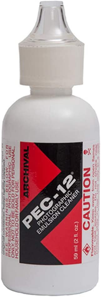 Photographic Solutions PEC-12 2 oz Photographic Emulsion Cleaner with Dropper Tip