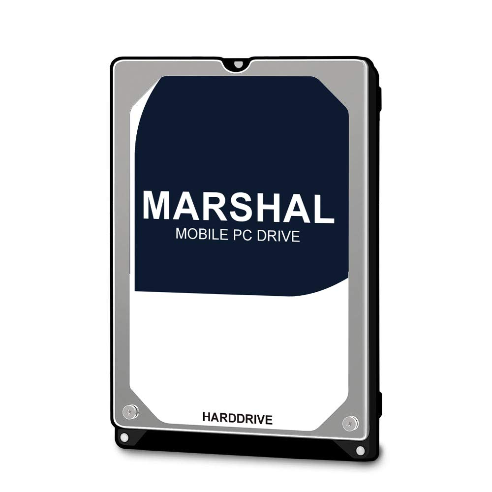 Marshal 1TB Internal Hard Disc Drive MAL21000SA-T54 HDD 2.5 Inch SATA 1000GB 1TB 5400RPM 9.5mm Toshiba Based White Label HDD (Renewed)