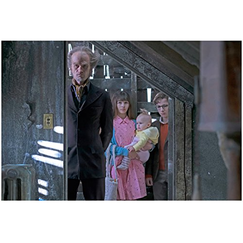 Neil Patrick Harris As A Child (A Series of Unfortunate Events Neil Patrick Harris as Count Olaf with Kids Peering into Room 8 x 10 Inch)
