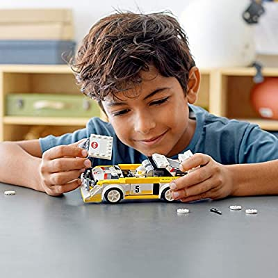 LEGO Speed Champions 1985 Audi Sport Quattro S1 76897 Toy Cars for Kids Building Kit Featuring Driver Minifigure, New 2020 (250 Pieces): Toys & Games