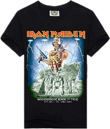 Camiseta para Hombre De La Banda De Rock 3D Manga Corta Estampada3Xlnegro Camisetas: Amazon.es: Ropa y accesorios