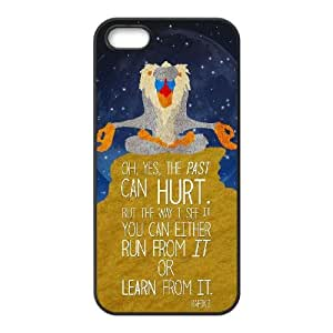 Disney The Lion King Character Rafiki iPhone5s Cell Phone Case Black Decoration pjz003-3750889
