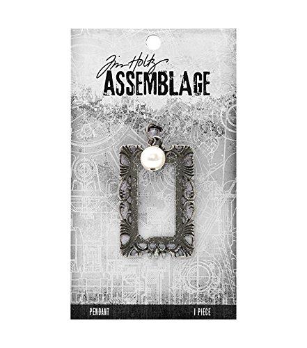 Tim Holtz Assemblage, Pearl & Ornate Frame, 20077