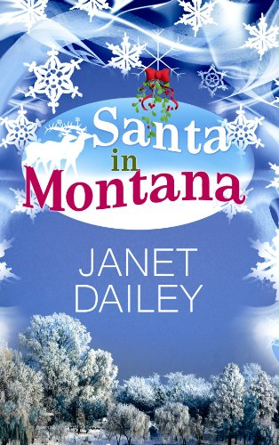 Santa in Montana (Center Point Platinum Romance) by Brand: Center Point Large Print