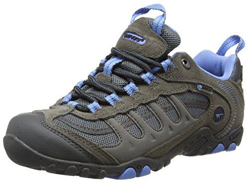 Hi-Tec  Windermere Wp,  Damen Trekking- & Wanderhalbschuhe , Grau - Grey (Grey/Charcoal/Cornflower) - Größe: 37